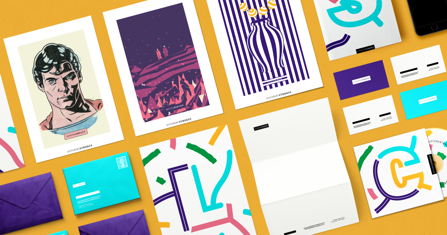 Different Strokes – Visual Identity