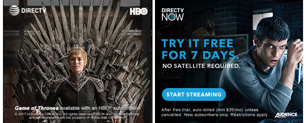 Direct TV Banner Ads