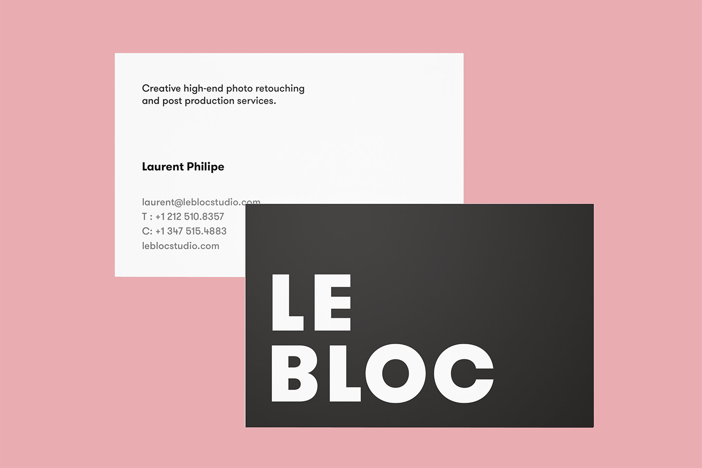 Le Bloc - Branding and Web Design + Custom CMS Dev