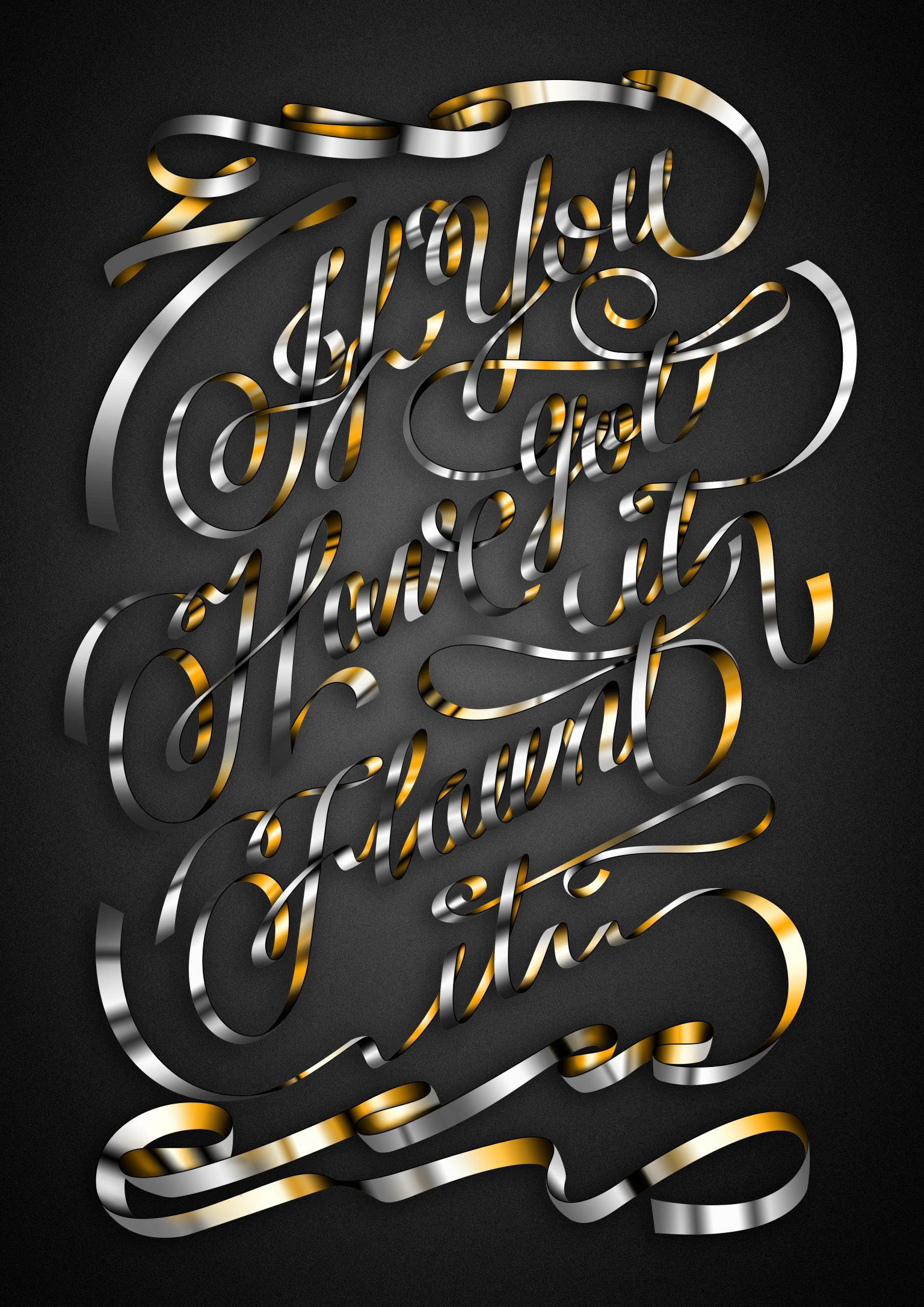 Andy Warhol Lettering