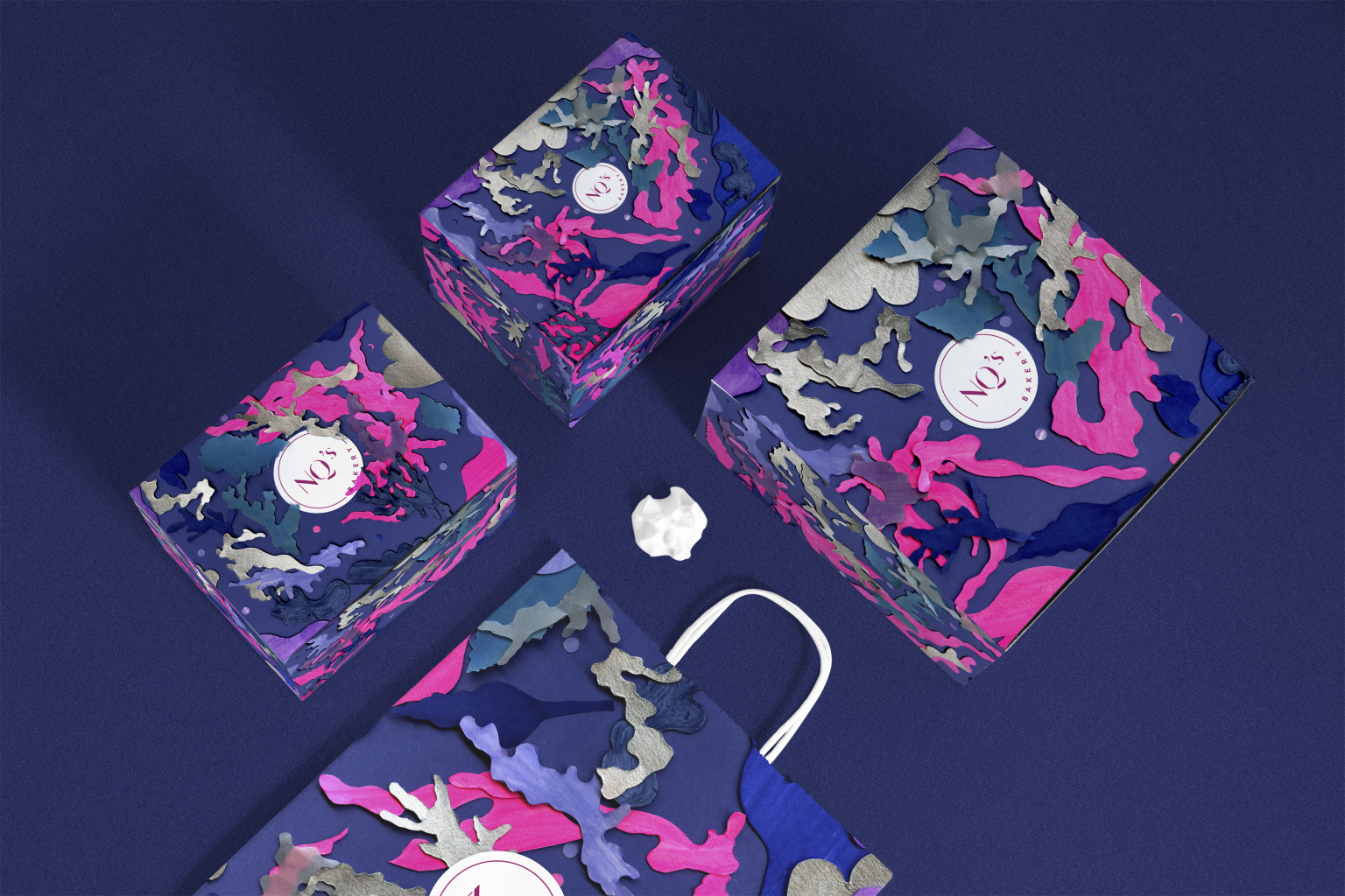 NQs Bakery Packaging: Summer Night Collection 2017