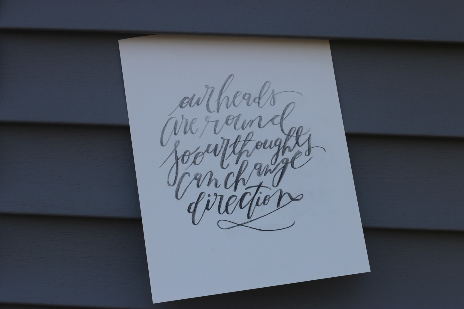 Personal Projects | Calligraphy and Lettering