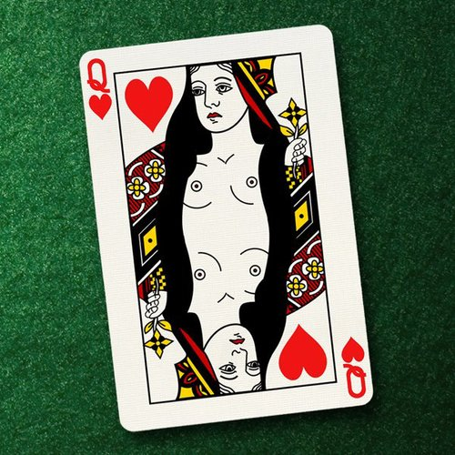CHARITY STRIP POKER // Passion Project