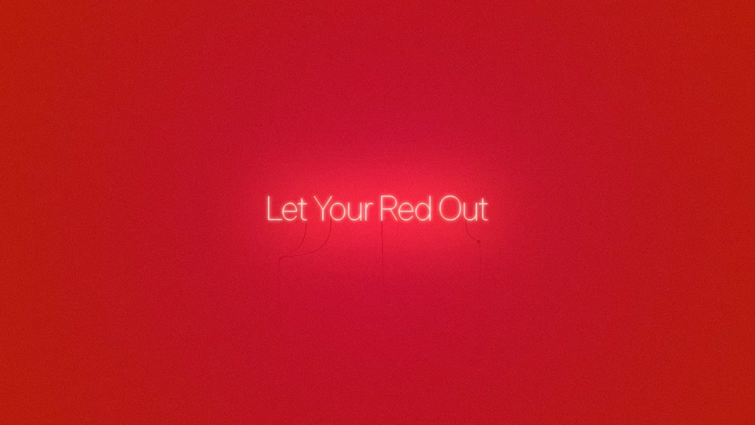 Apple — Let Your Red Out