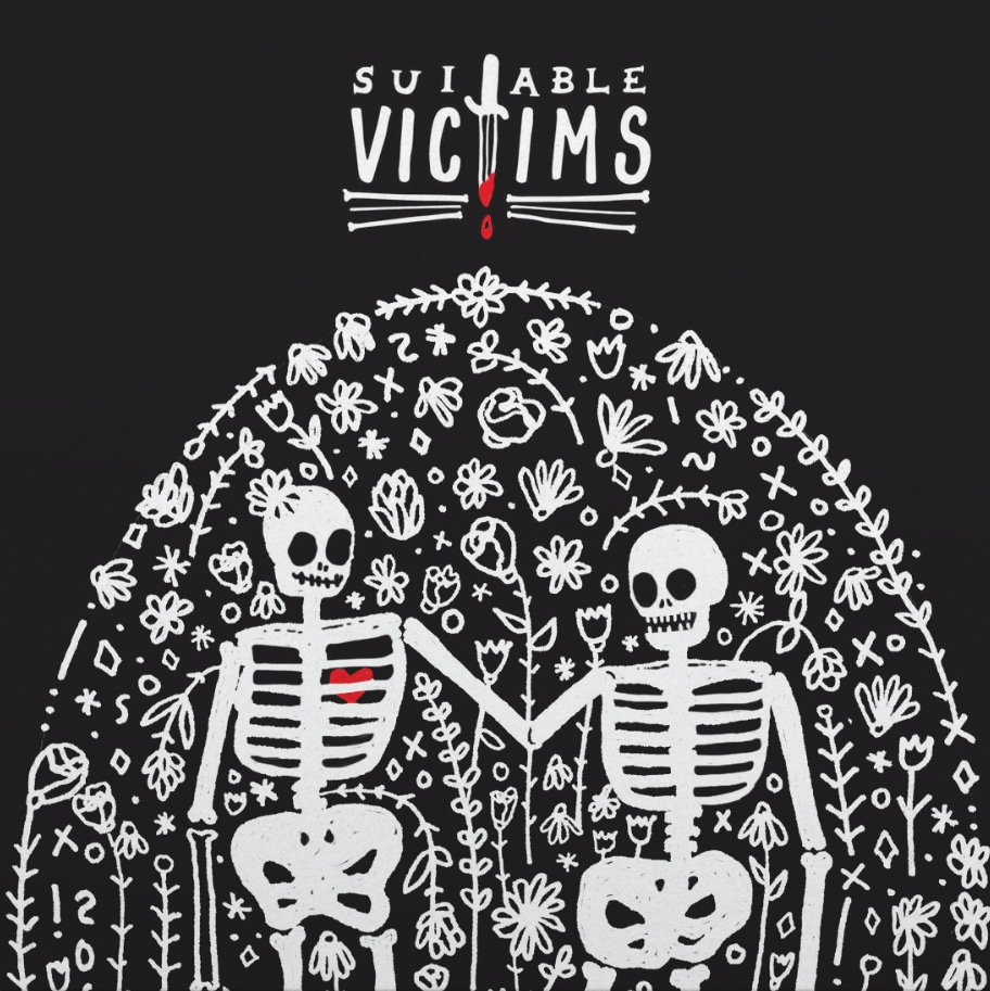 Suitable Victims Vinyl Art