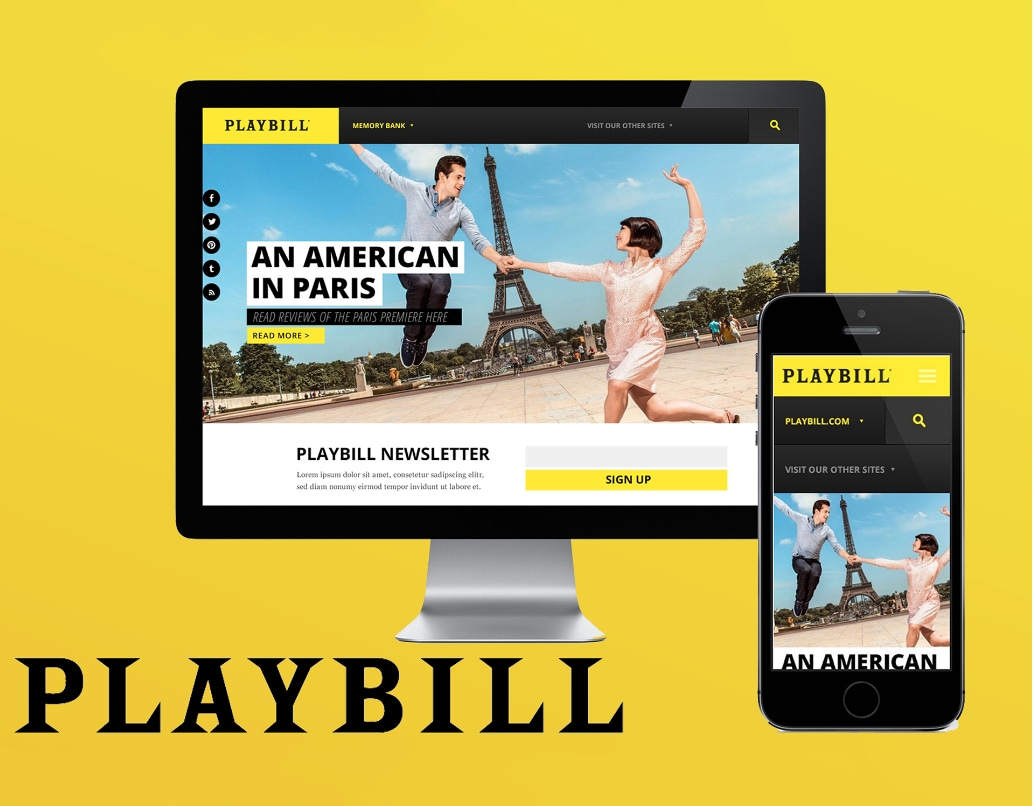 Playbill Site Design
