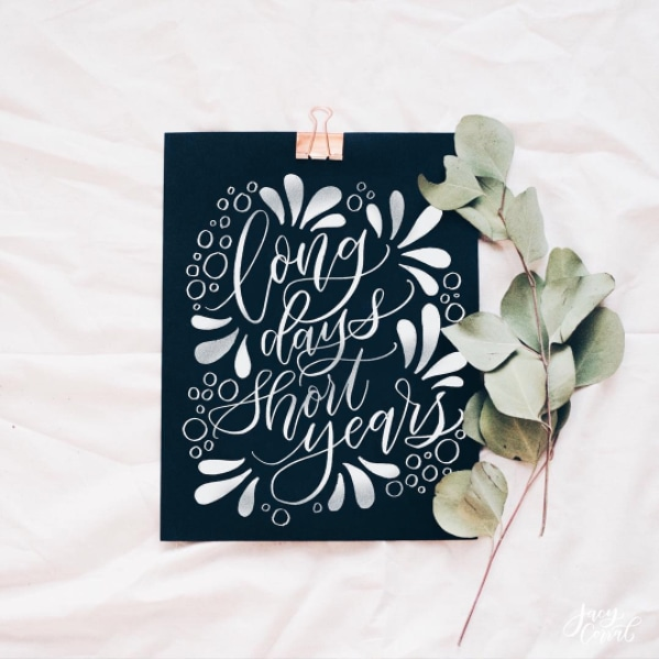 Expressive Quote Lettering