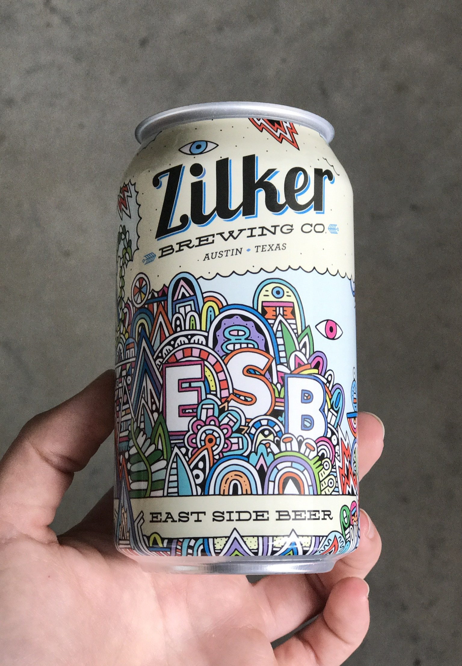Zilker Brewing Special Edition Can