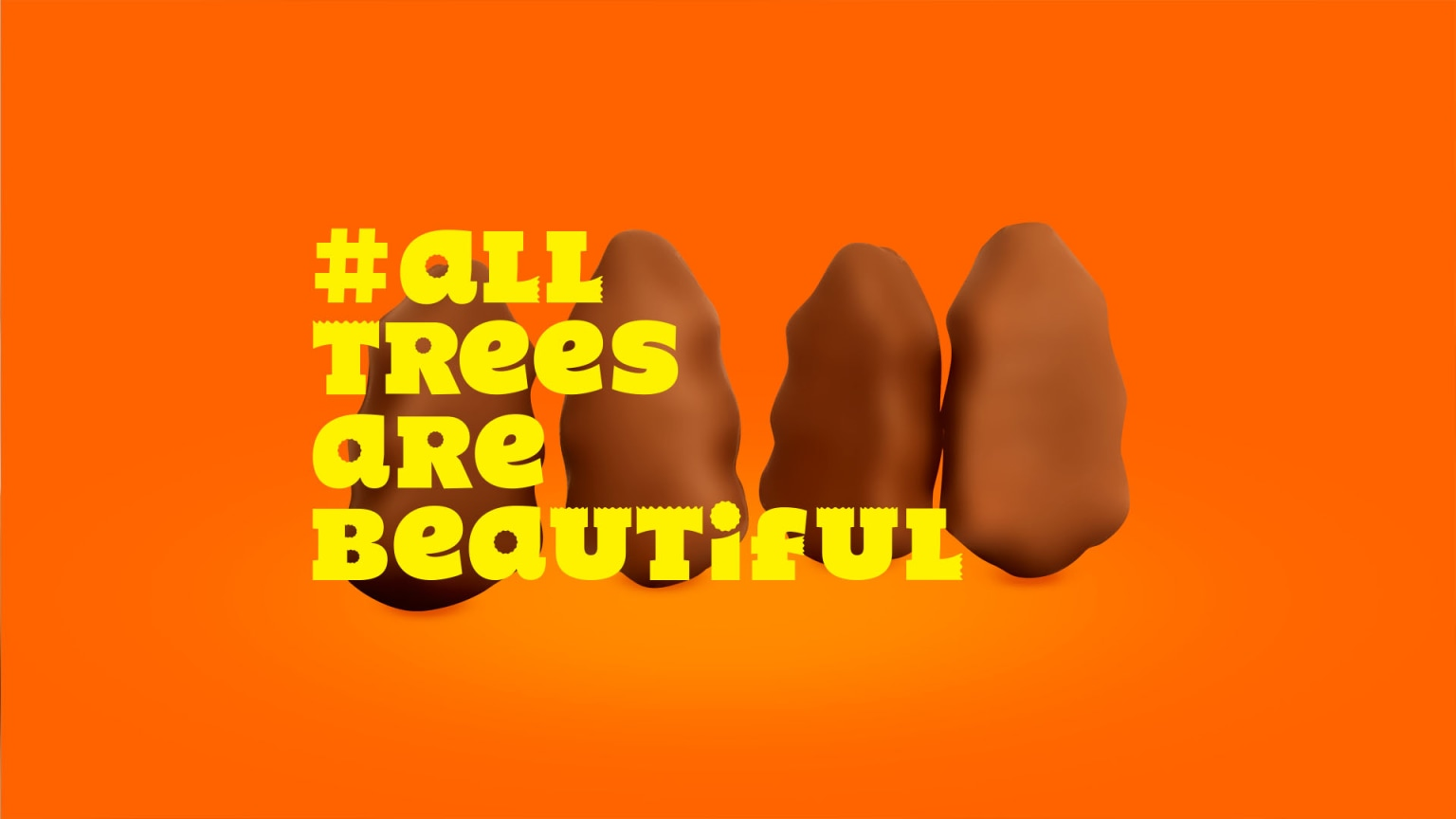 Reese's All Trees Are Beautiful