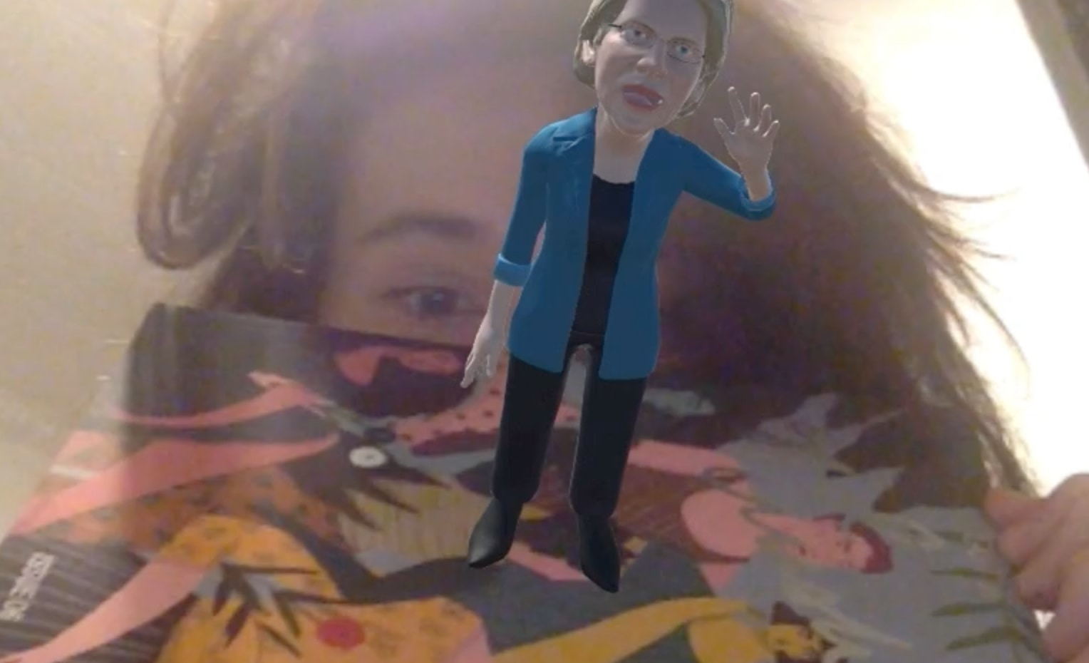 Augmented and Virtual Reality with Liz Warren on a Got A Girl Crush Magazine