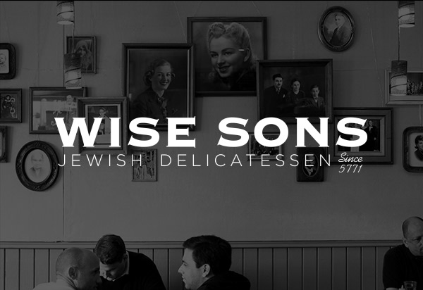 Wise Sons Delicatessen: Identity