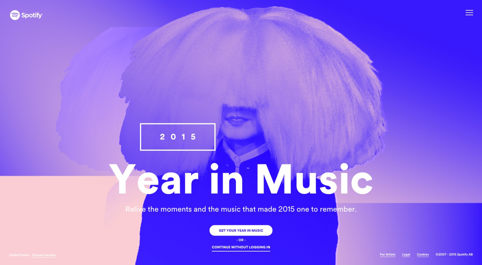 Year In Music 2015 | Spotify