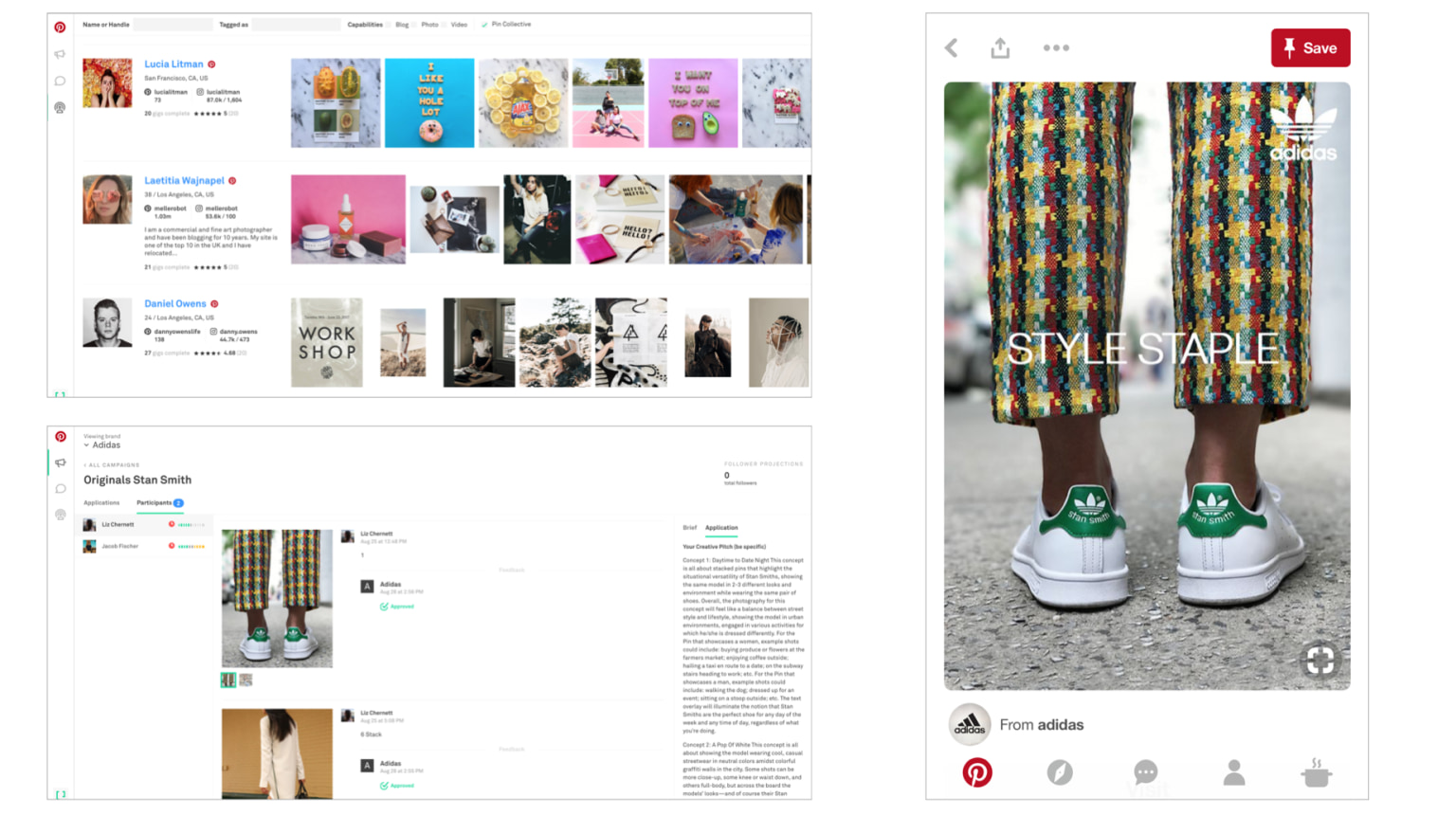 Developed Pinterest's first custom content arm offering bespoke adverting creative for brands including Target, adidas, Clorox, Chase, Dunkin Donuts & more.