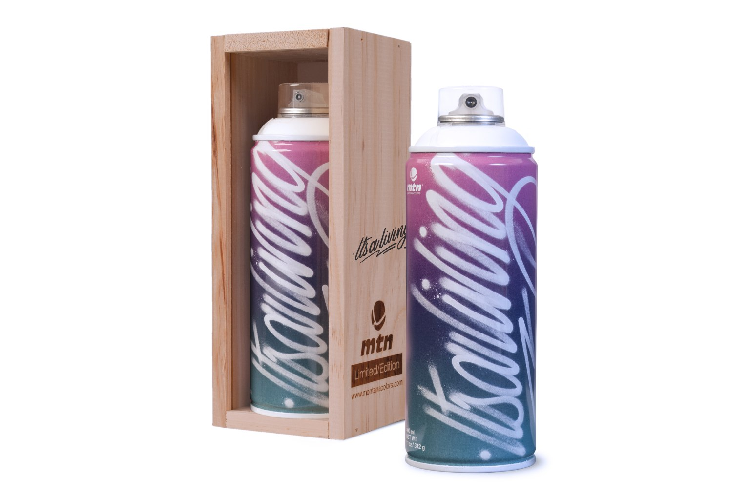 Montana Colors / Limited Edition Artist Can