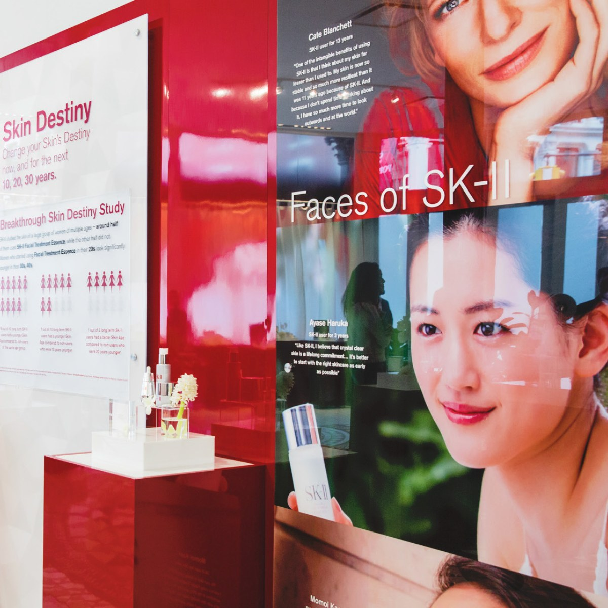 SK-II #ChangeDestiny Pop-Up