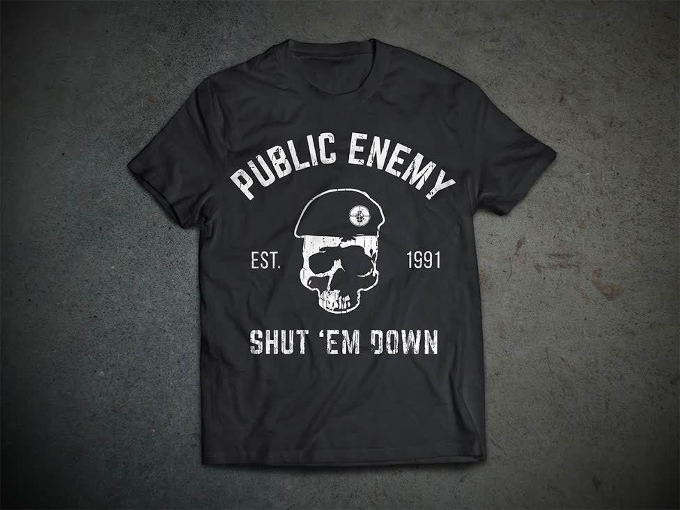 Public Enemy Merch