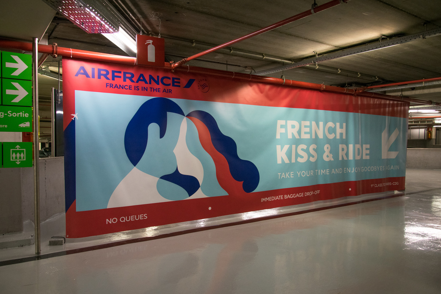 Air France Campaign Visuals