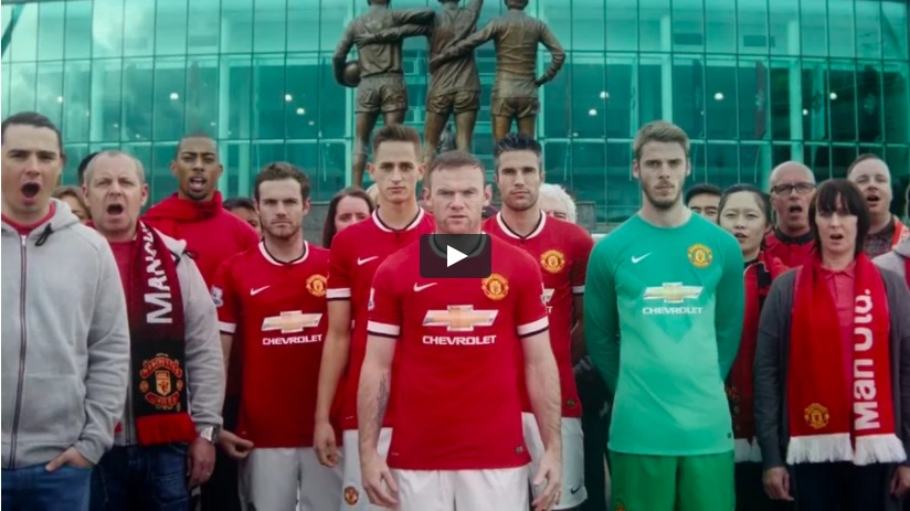 Chevrolet/Manchester United Global Sponsorship Launch