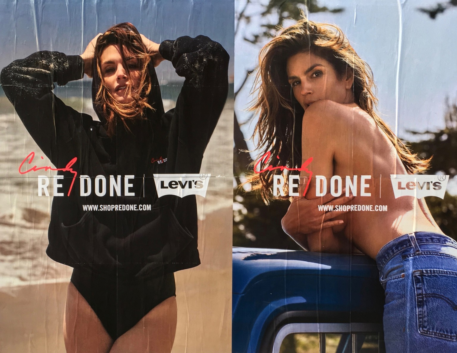 Cindy Crawford and Redone Denim Collaborations