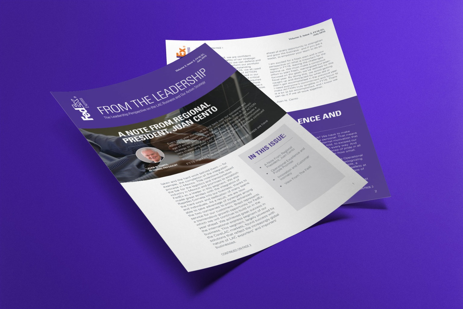 FedEX Express Internal Newsletter