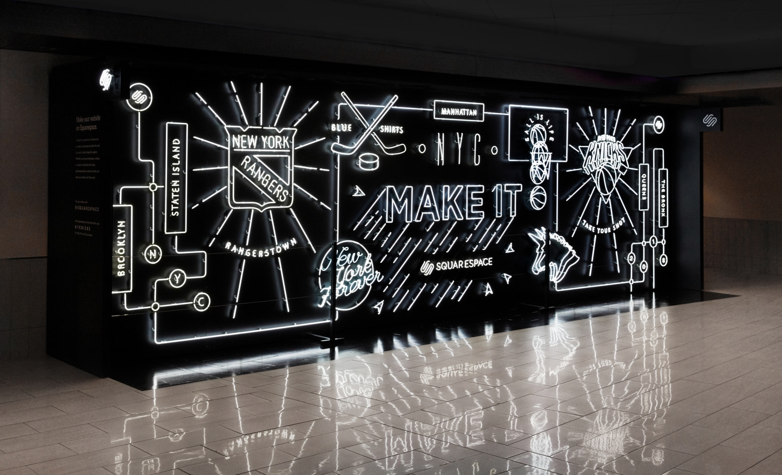 Squarespace Make It Neon Installation