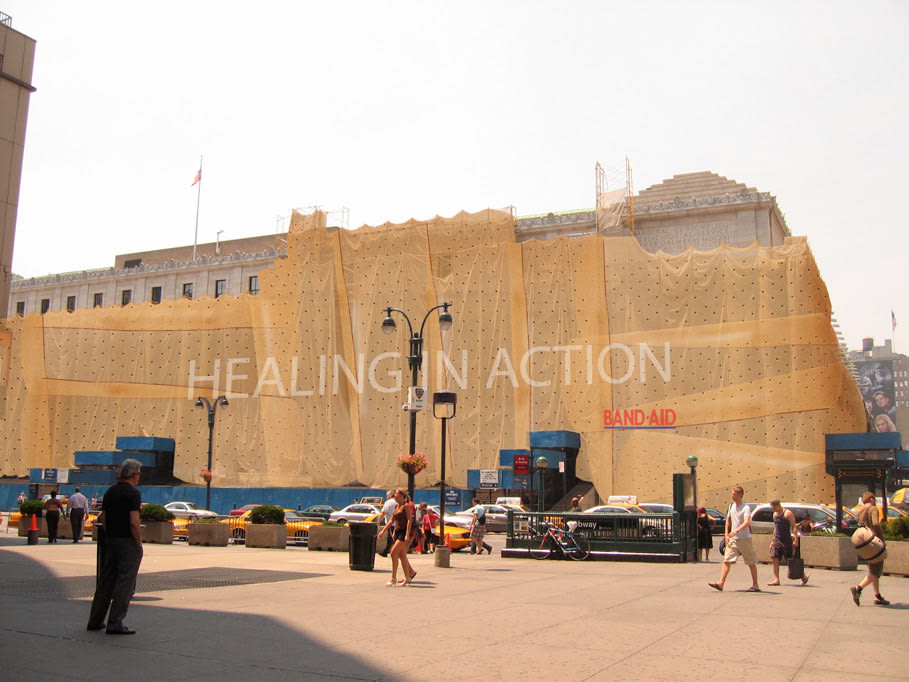 "BAND-AID Building ""Healing in Action"""