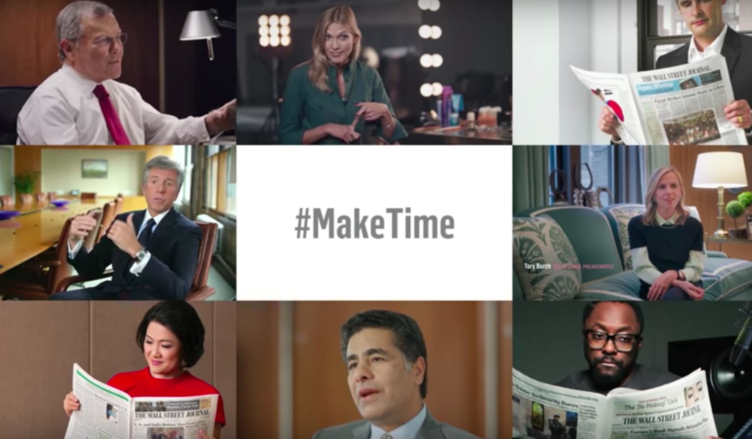 The Wall Street Journal - Make Time