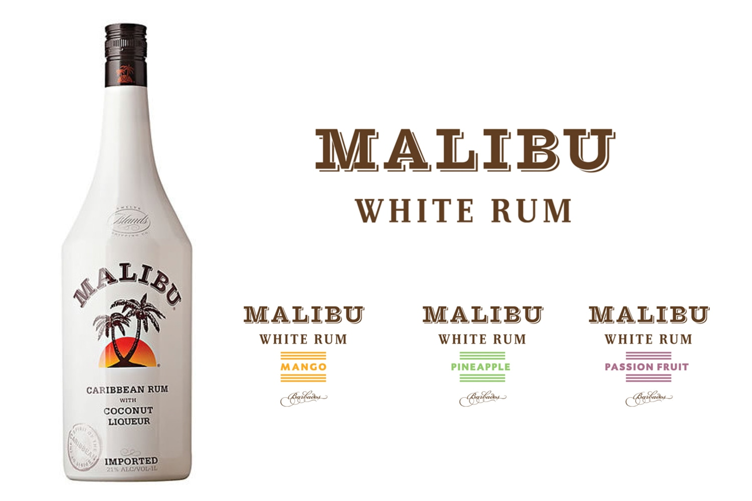 Malibu Brand / Packaging