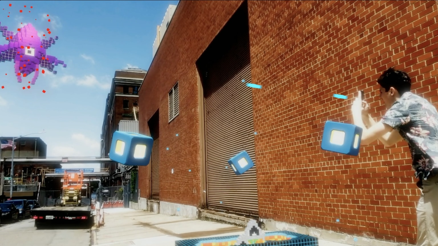 Dell Augmented Reality Game