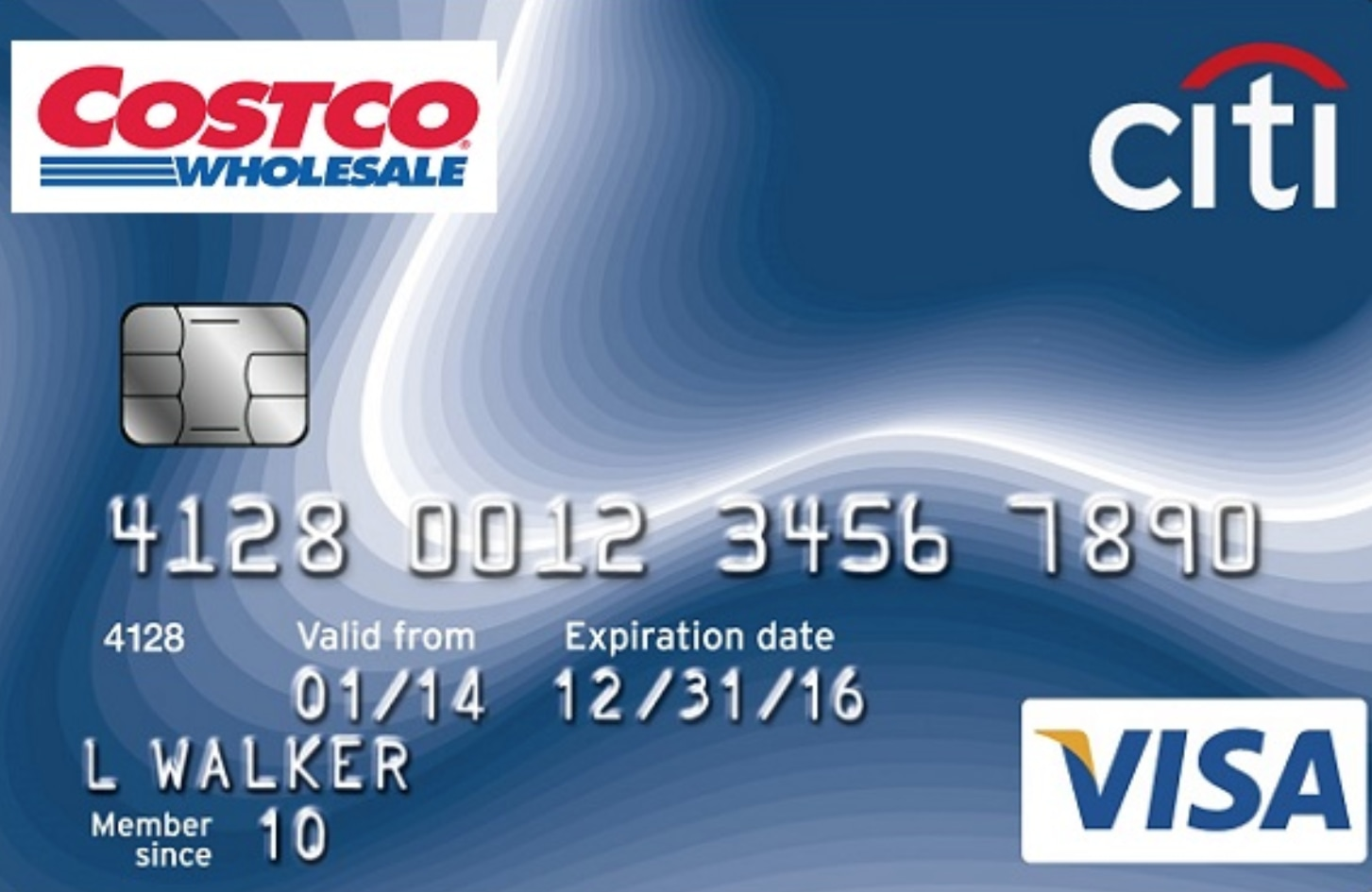 Citi-Costco Credit Card Retail