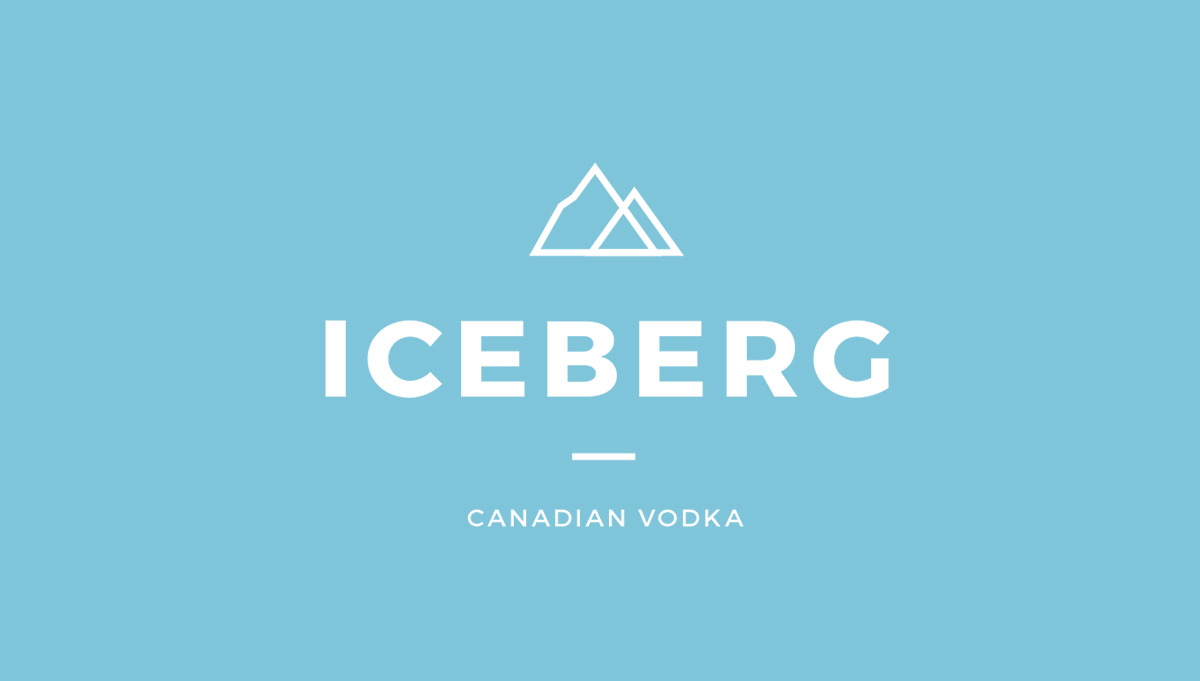 watch 4ed86 d4114 Iceberg Vodka Rebrand - WNW
