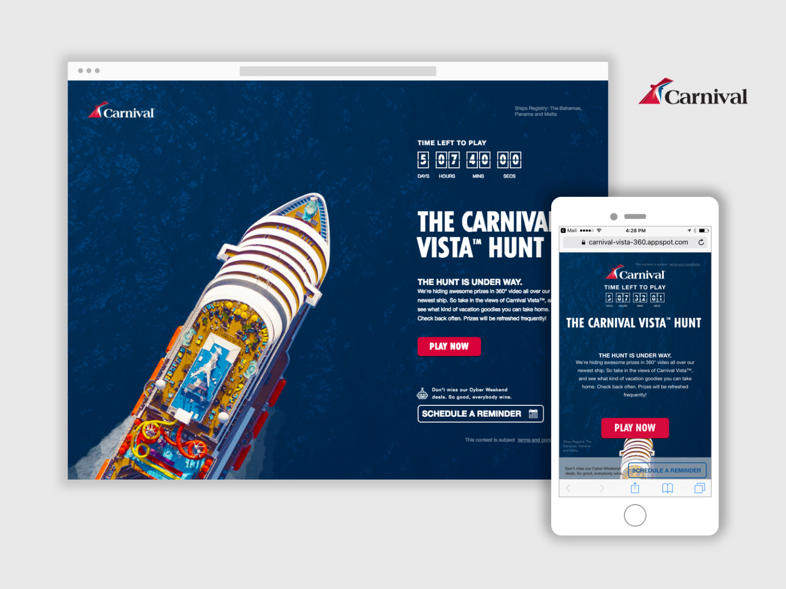 Carnival Cruise Lines - Instant Vacation