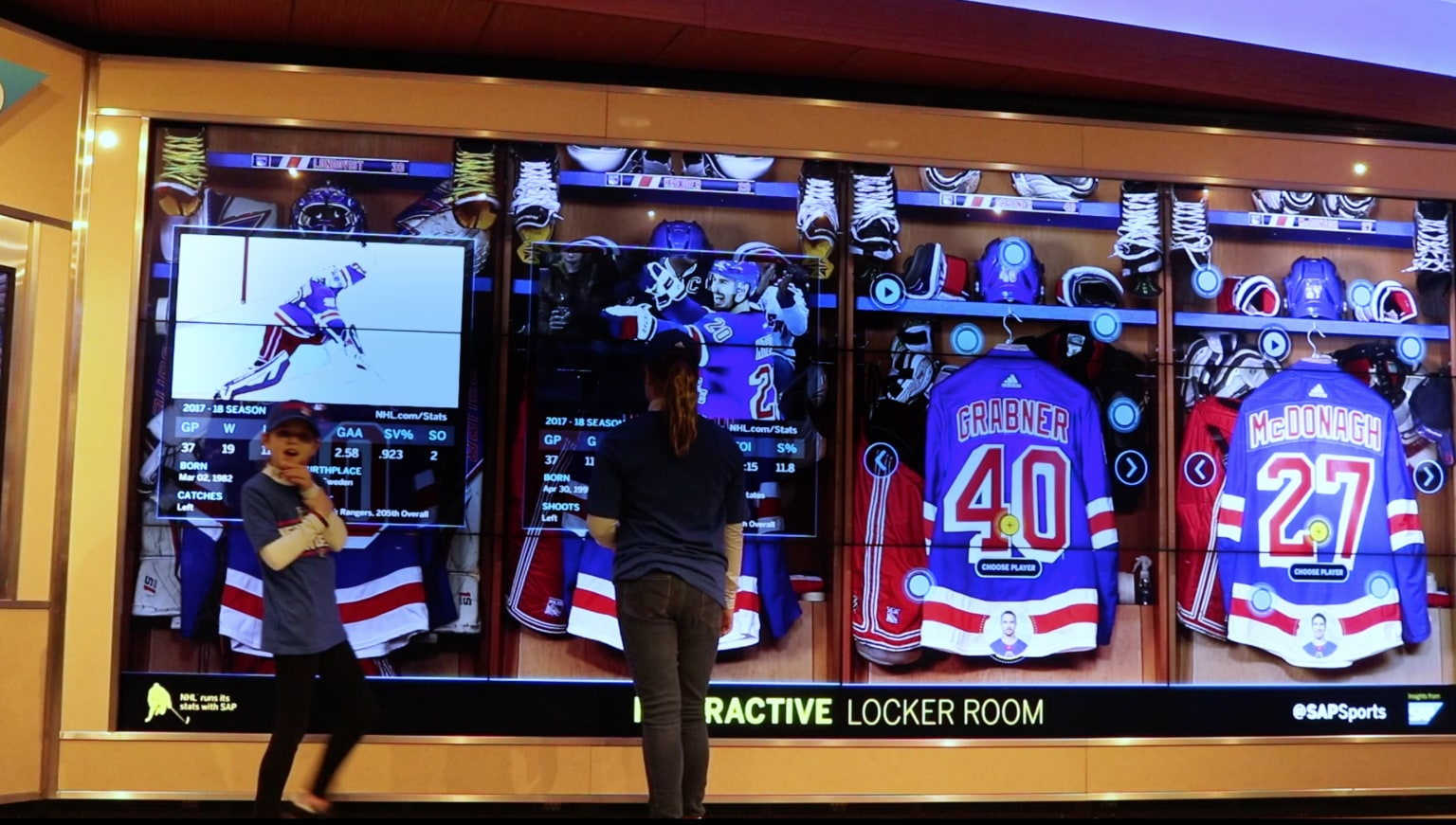 SAP Interactive Locker Room