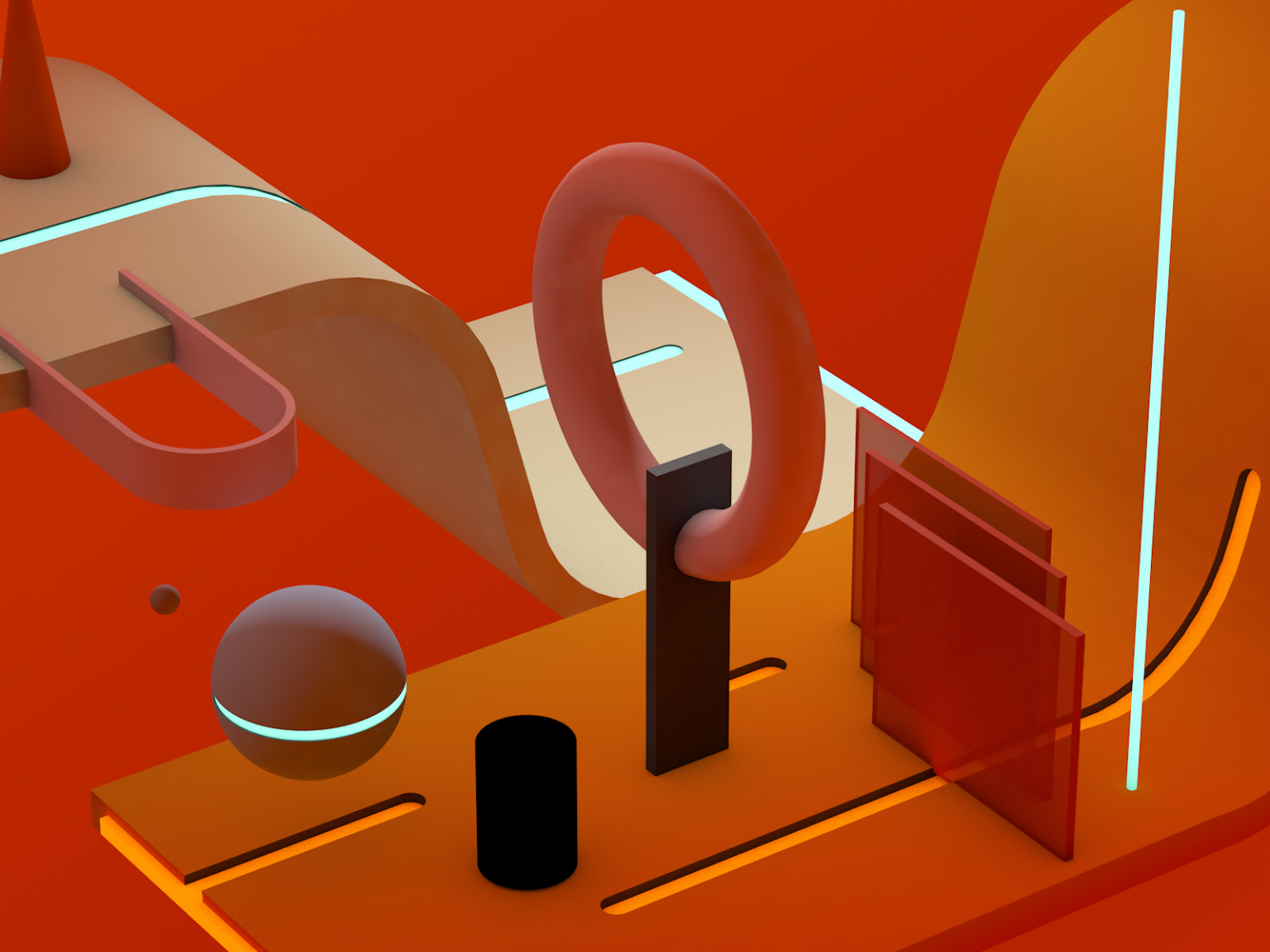 A collection of 3d Explorations