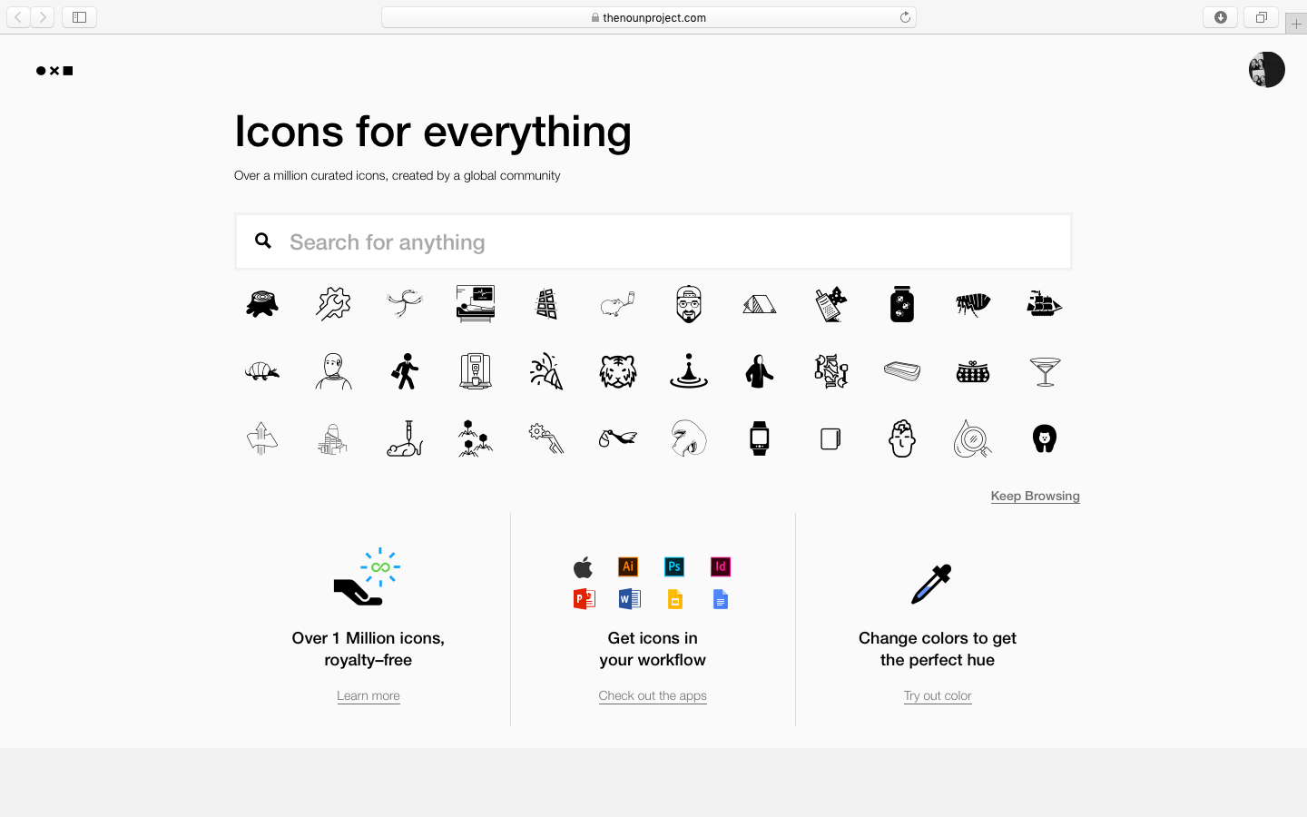 The Noun Project Brand and Content Strategy