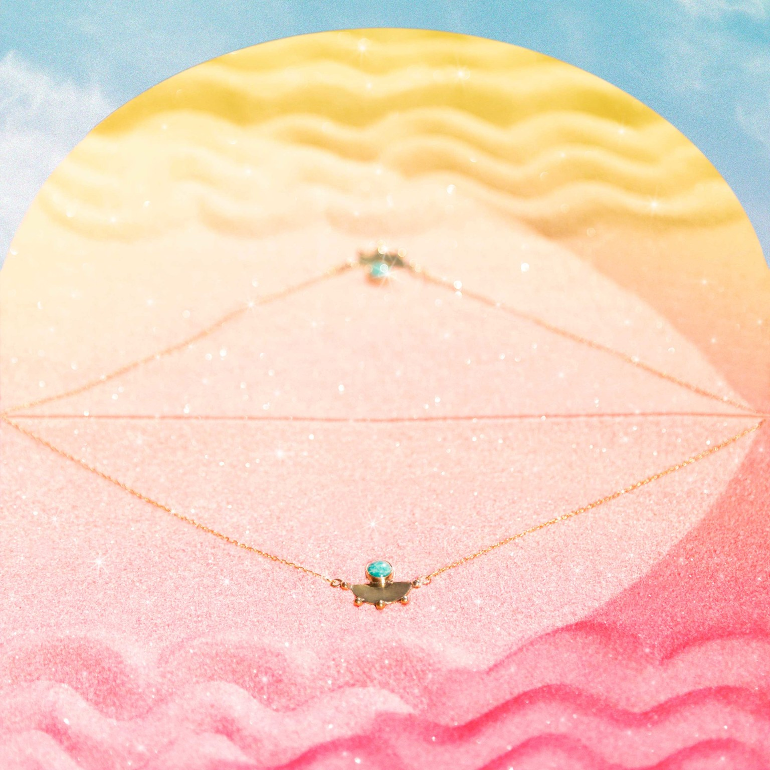 ENDLESS SUMMER campaign for Geoflora Jewelry