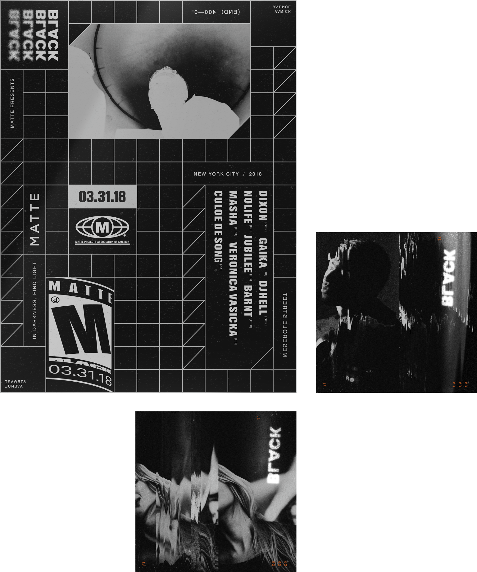 BLACK 2018 (Matte Projects)
