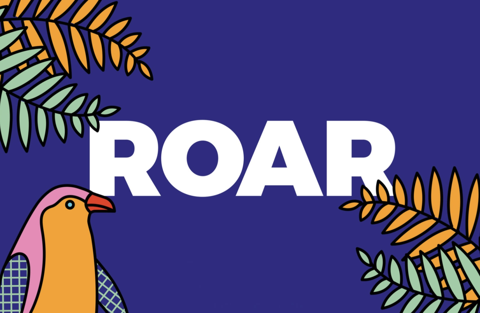 Callen-Lorde Roar Party Branding