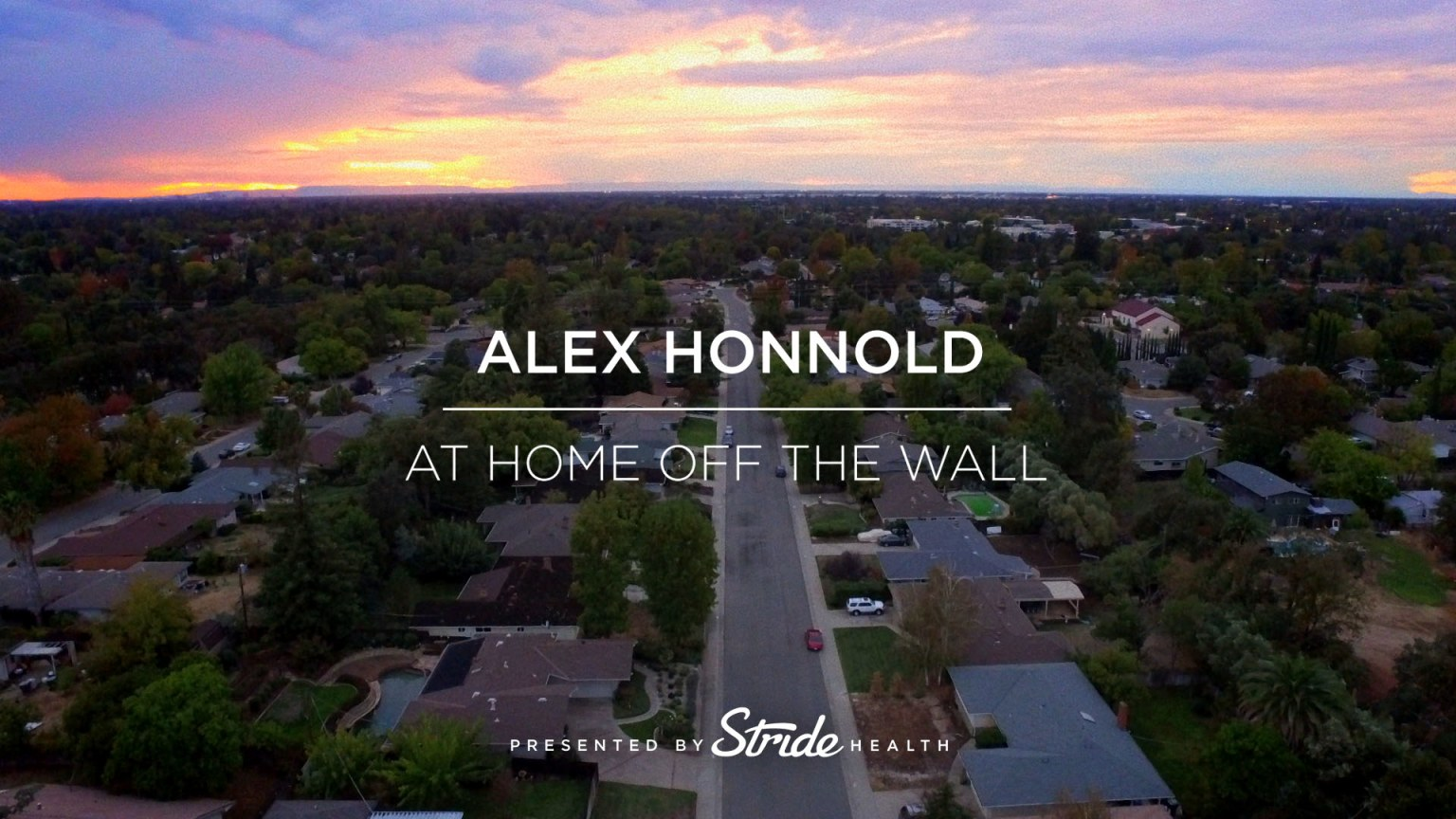 Alex Honnold: At Home Off The Wall