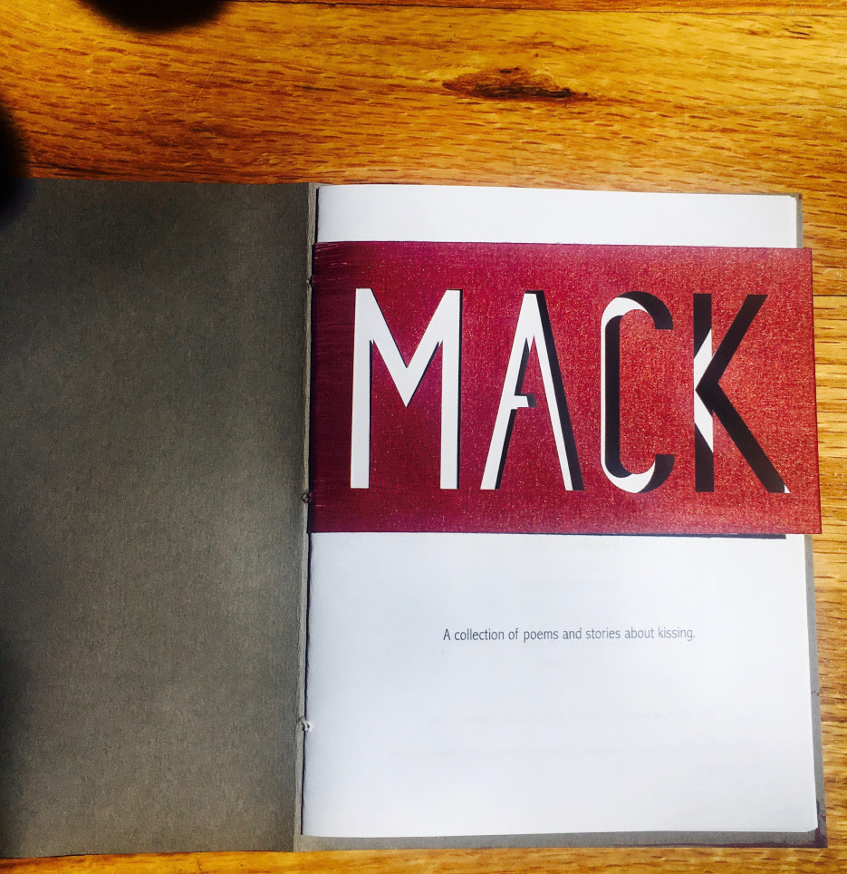 MACK is a book about kissing