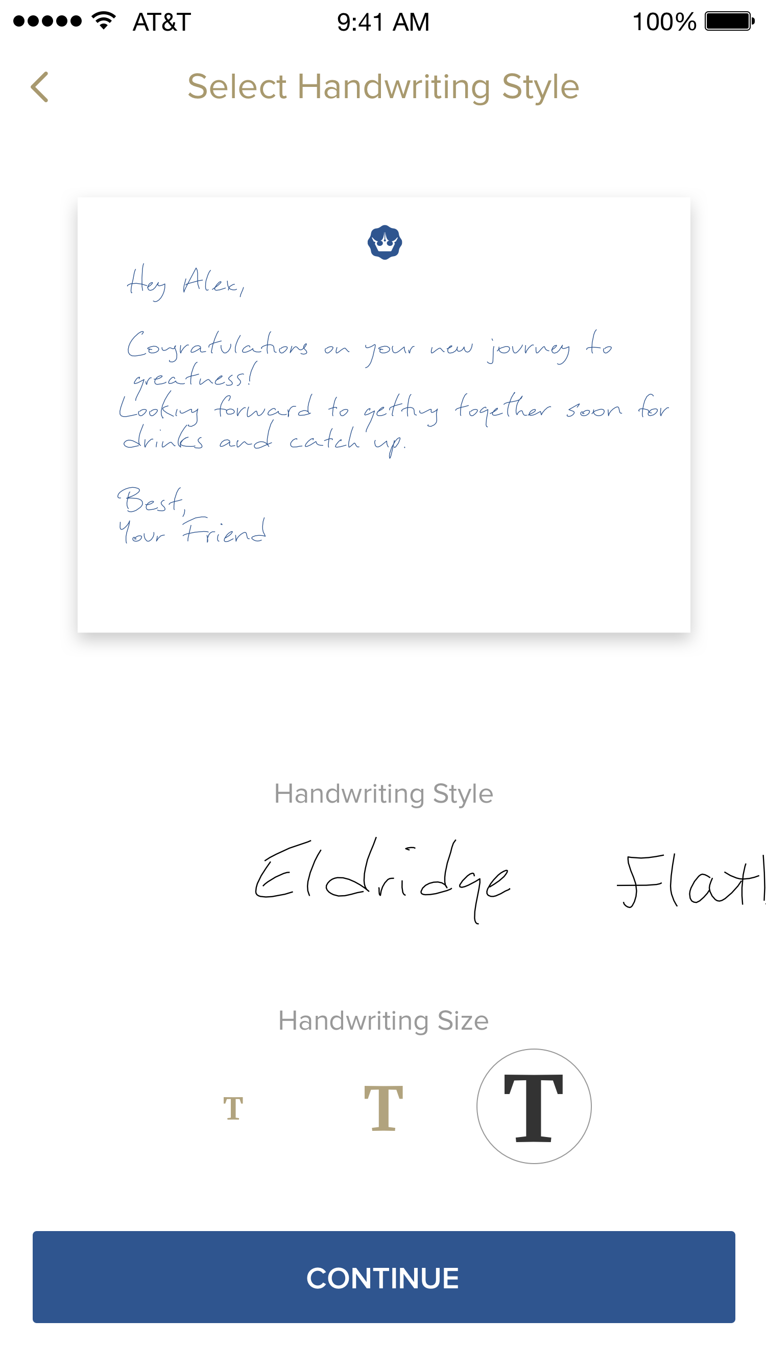Bond - Send Handwritten Notes Online