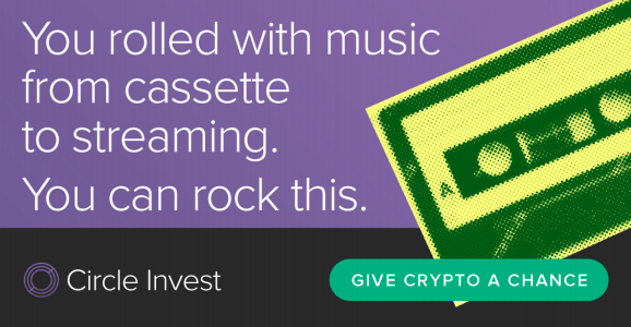 Circle Invest 'Give Crypto a Chance' campaign