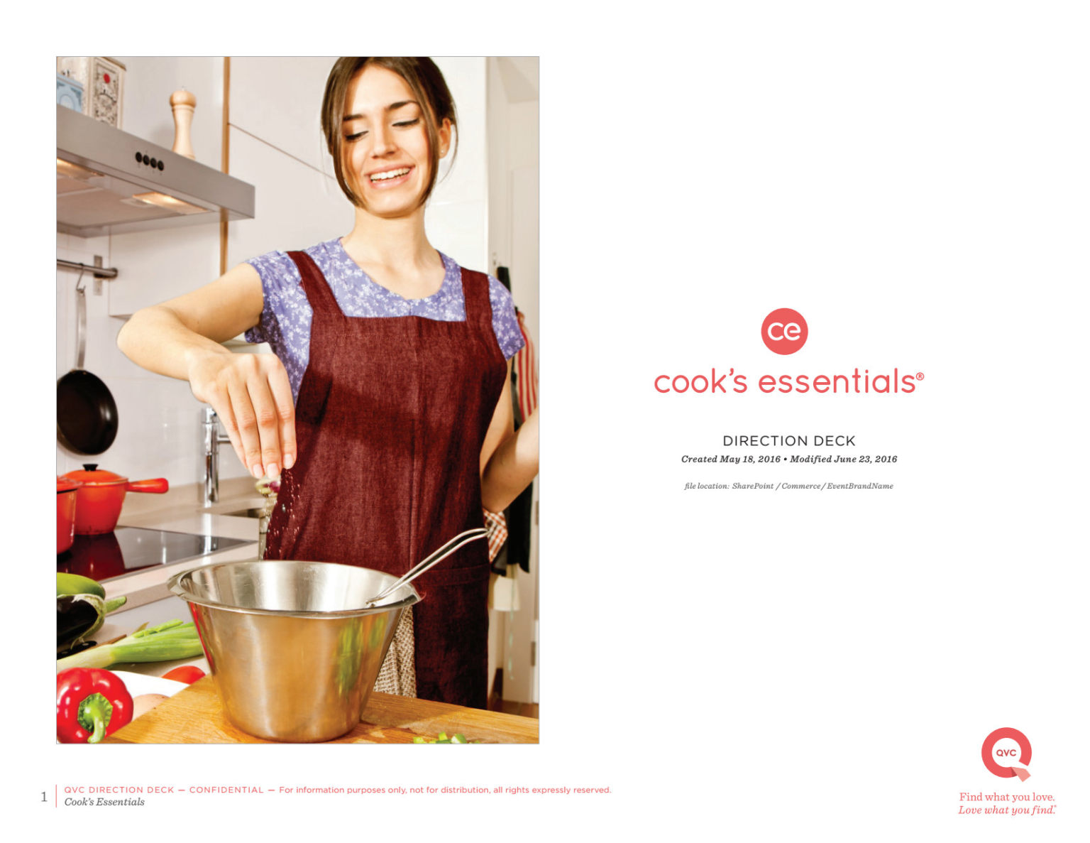 Cook's Essentials Brand and Creative Strategy