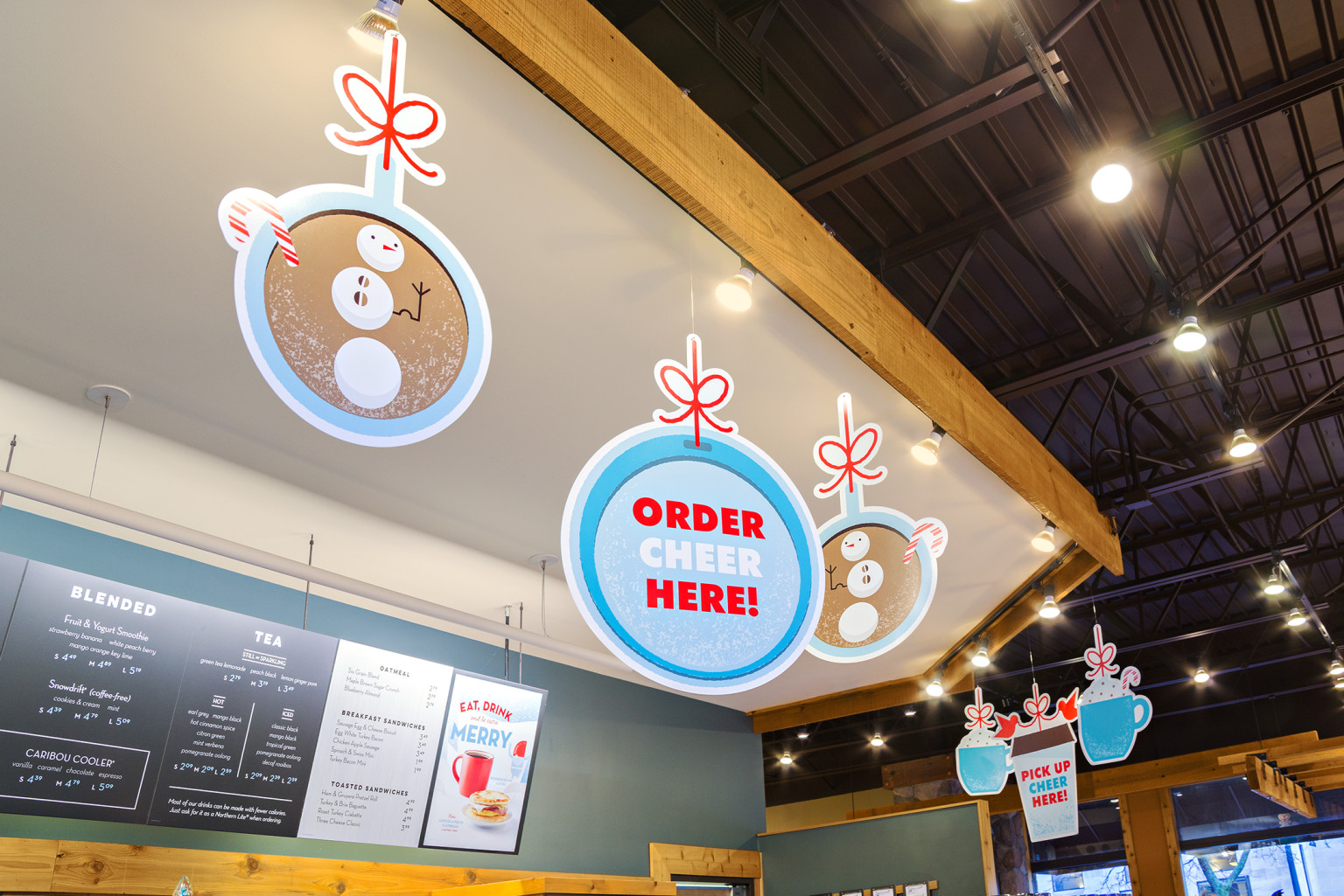 Caribou Coffee: Season of Surprise Holiday Campaign