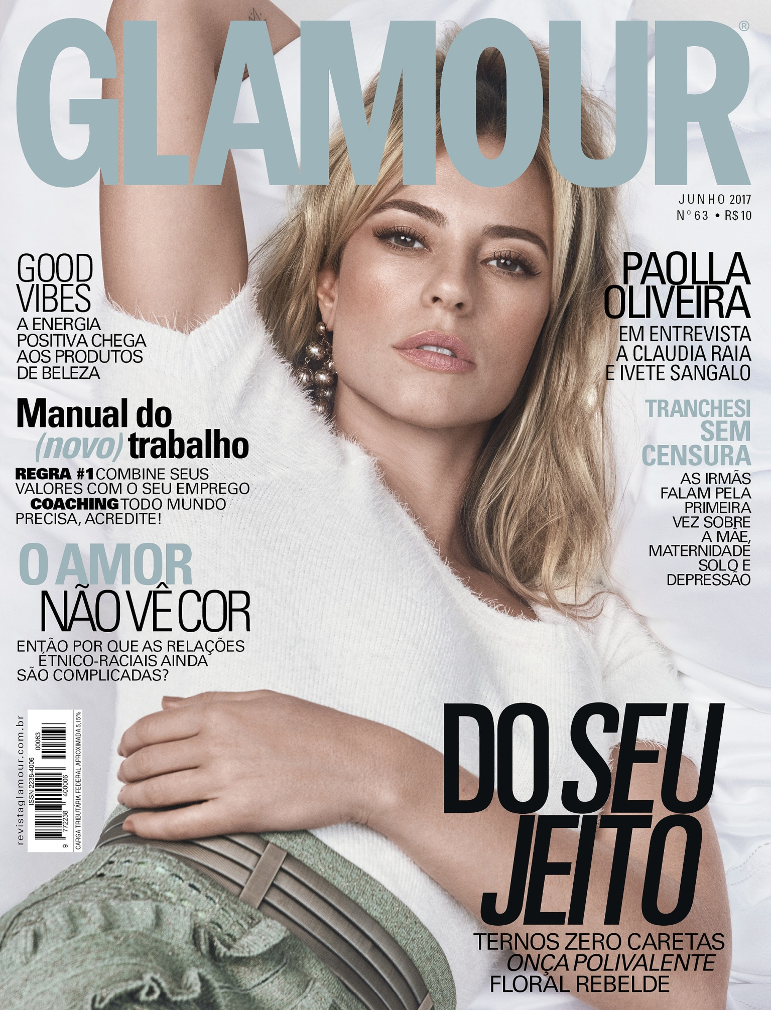 Glamour Magazine - Brasil - June Issue 2017