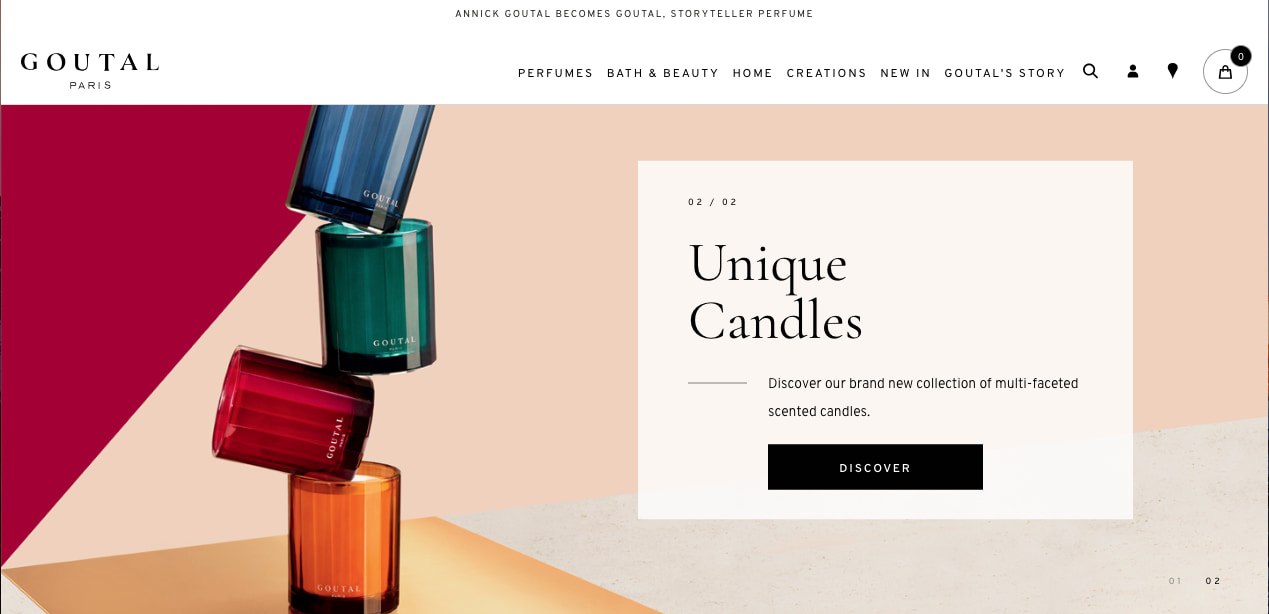 E-commerce Magento Re-platform: ANNICK GOUTAL BECOMES GOUTAL, STORYTELLER PERFUME