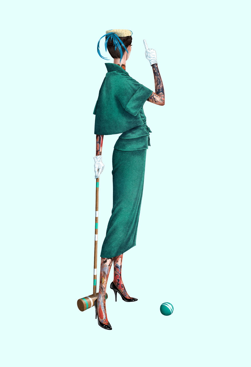 Croquet and Ink