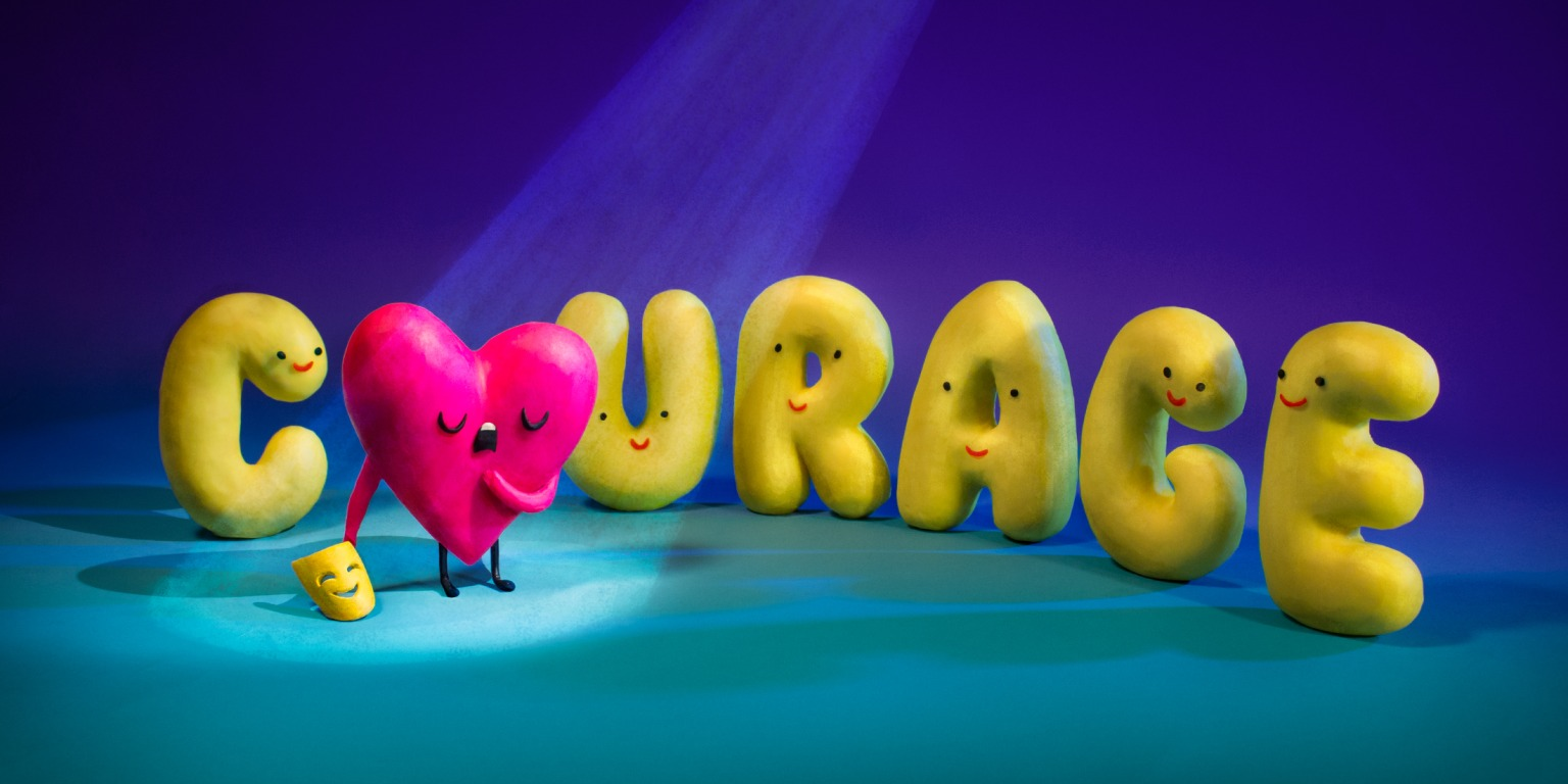CreativeMornings: Courage