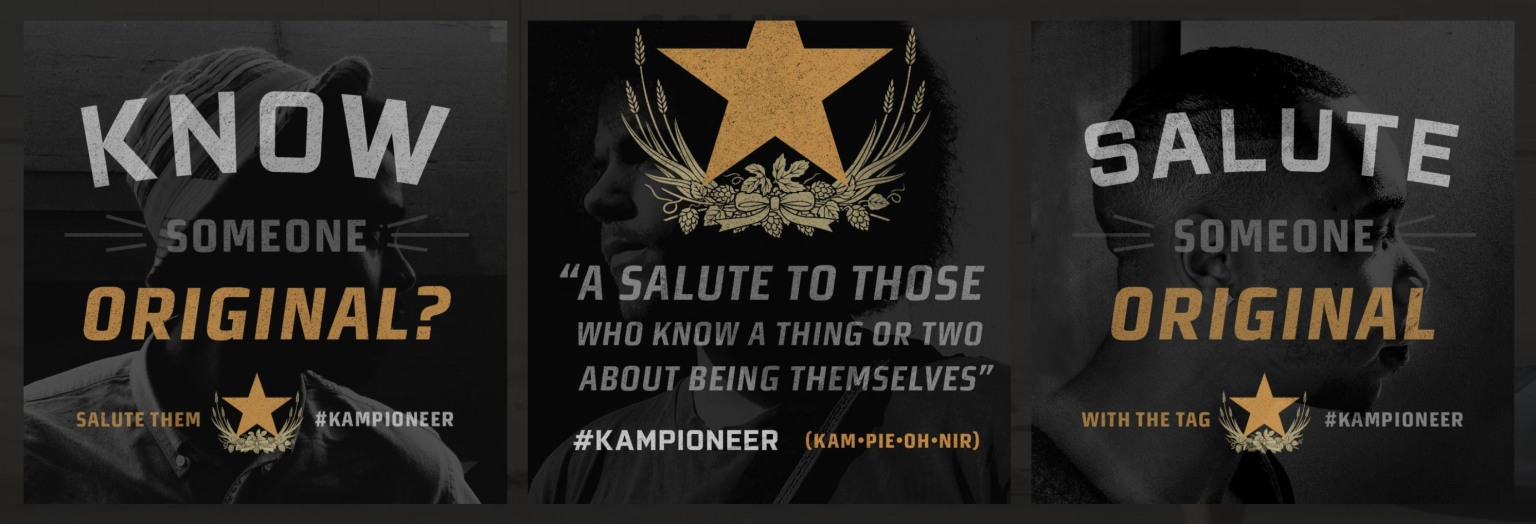 Sapporo #Kampioneer — Integrated campaign