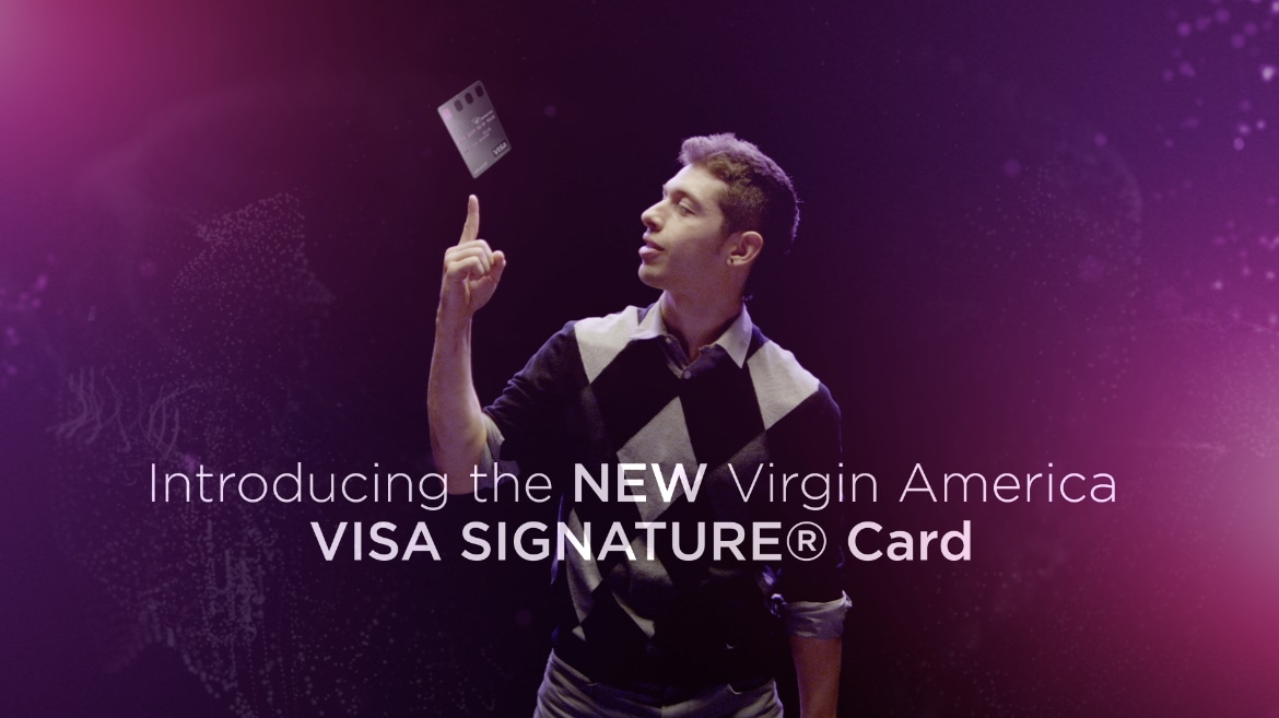 Virgin America Visa Signature